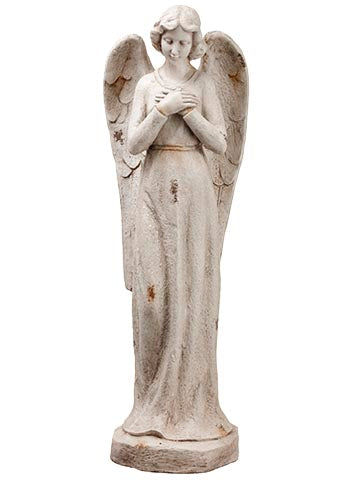 "32"" Angel  Antique Gray (pack of 1)"