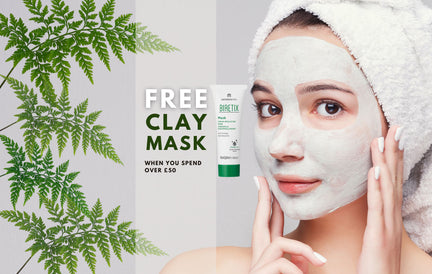 Your FREE clay mask - treat your skin to some TLC