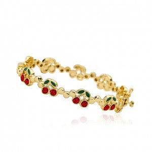 Cherry Delights cut out bangle