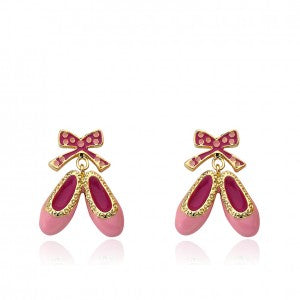 Ballet Shoes Dangle Earring