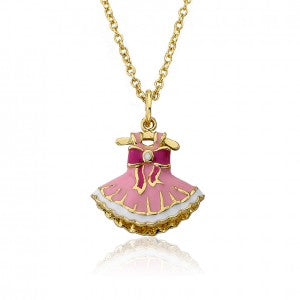 Ballet Dress Pendant Necklace