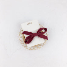 Load image into Gallery viewer, Denver Dainty Bow, Cranberry
