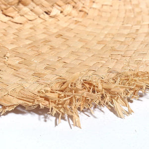 Kensley Frayed Straw Hat