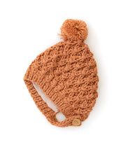 Load image into Gallery viewer, Evie Knit Beanie, Autumn Orange