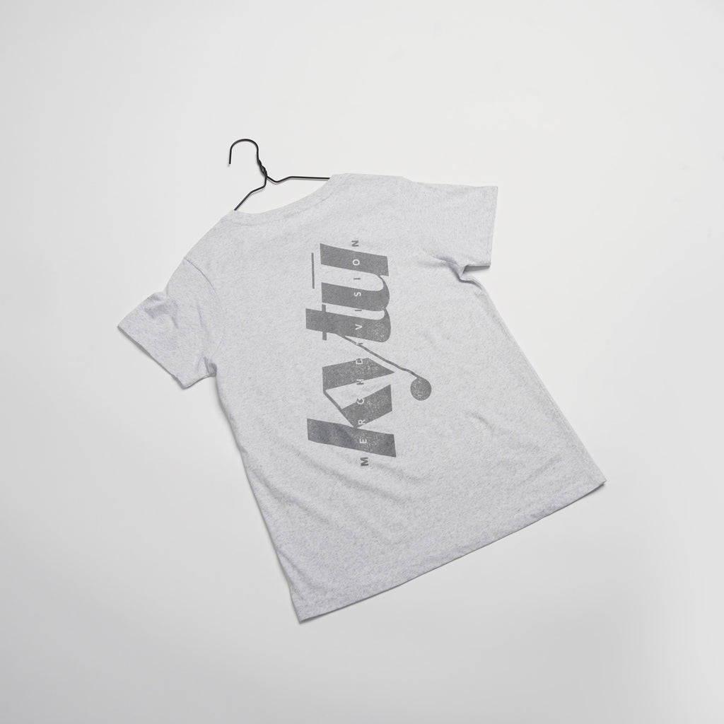 Women's Big Reflective Cotton/Poly Tee