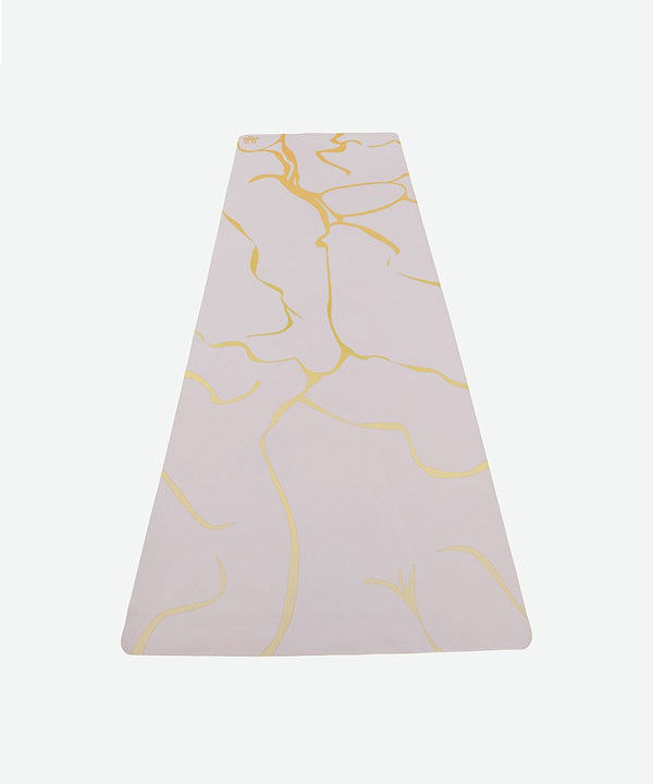 "Prickly Pear ""Truth"" Gold Crack Travel Yoga Mat"