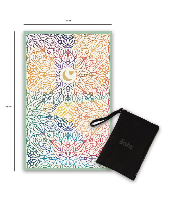 Sabr Maadi Green Compact Prayer Mat