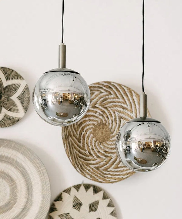 1Lt Glass Pendant Lamp