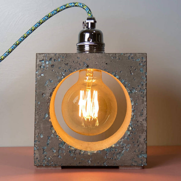 Industrial Table Lamp Concrete - Limited Edition