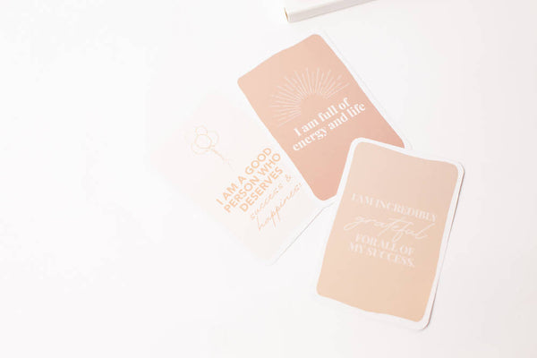 AchievHer x Prickly Pear Set of Affirmation Cards