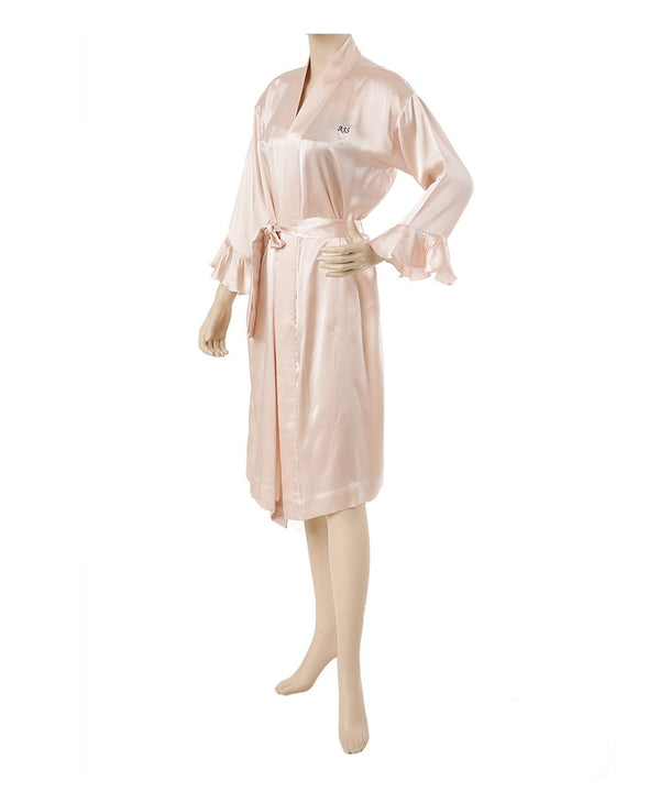 Personalized Mulberry Silk Robe