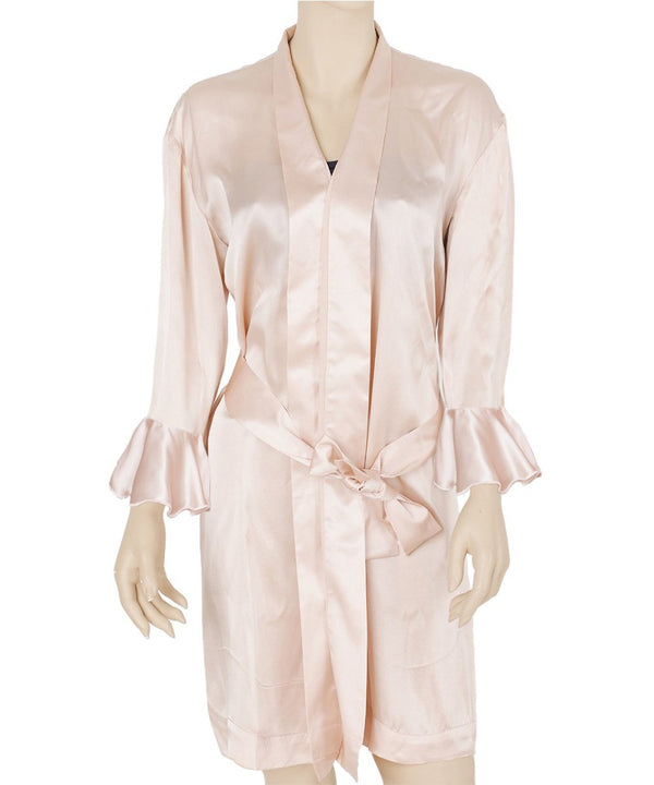 Bride Squad Mulberry Silk Robe