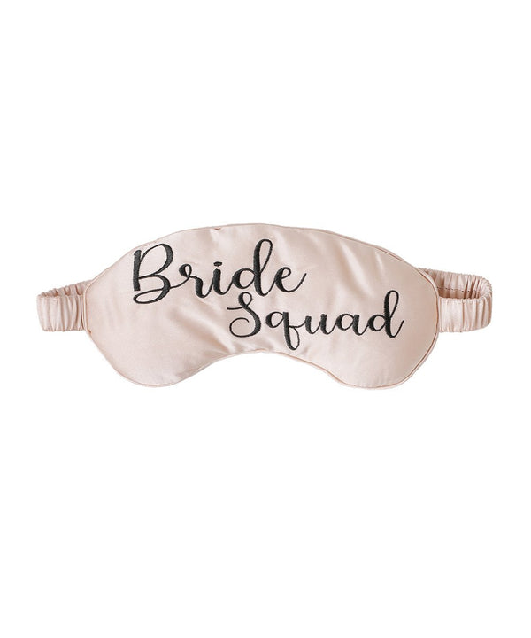 Bride Squad Mulberry Silk Eye Mask