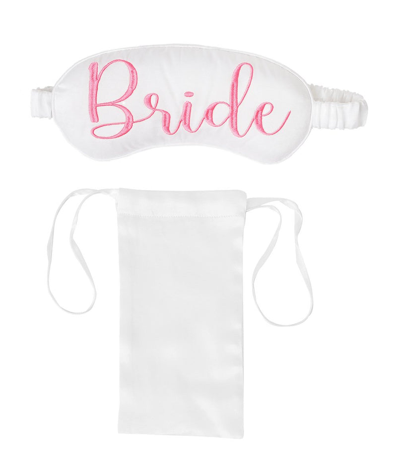 Bride Mulberry Silk Eye Mask