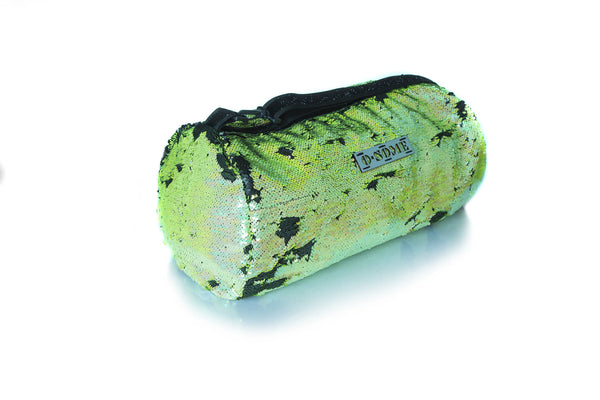 Sequin Small Duffle Green/ Black