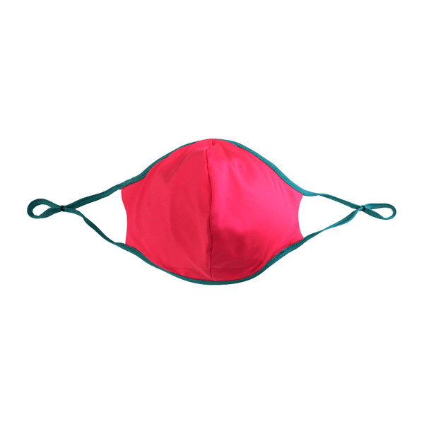 Pink and Green Adult Mask
