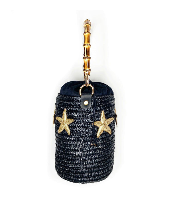 Capri Nights Starfish Raffia Bucket