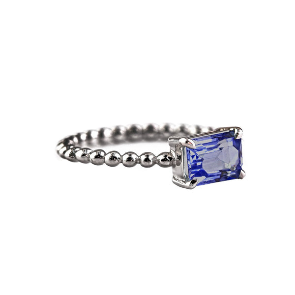 Circle of Life Ring - Blue Sapphire