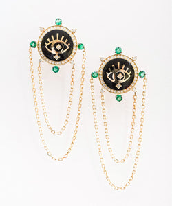 Dark Eyes Earrings