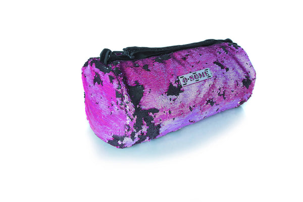 Sequin Small Duffle Pink/Black