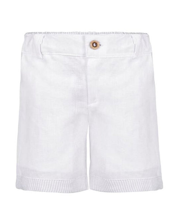 Henri White and Blue Boy Shorts