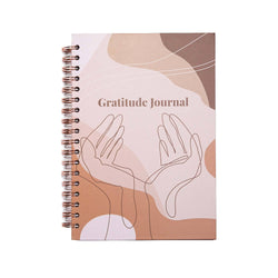 Achievher x Prickly Pear Gratitude Journal Hardback B5 - Beige