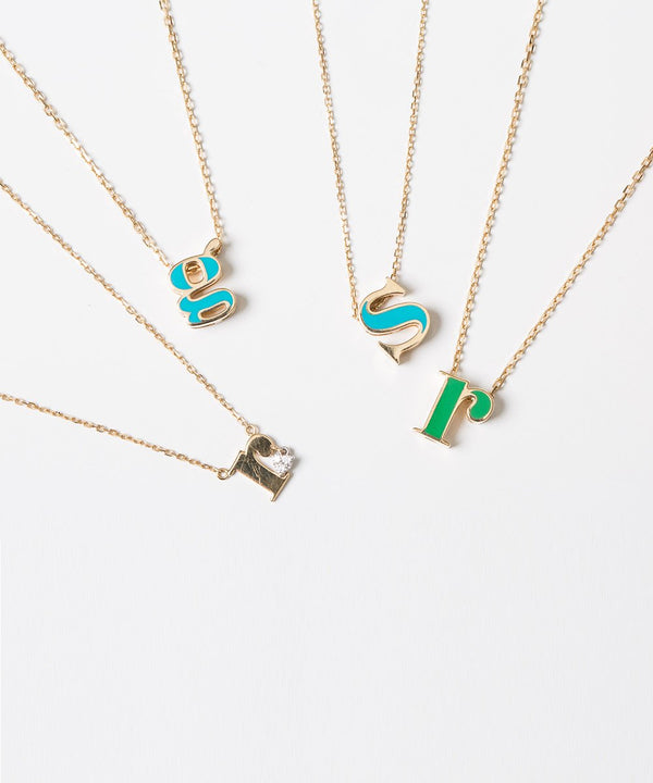 Horouf Collection - Letter S Pendant