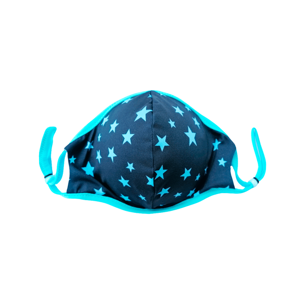 Blue Stars Kids Mask
