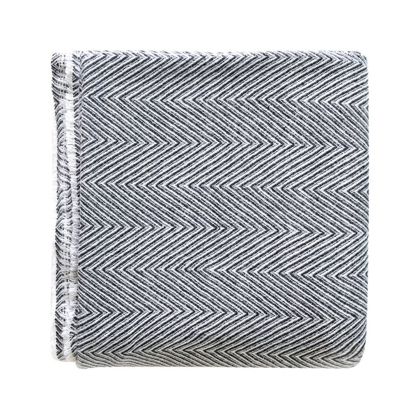ZigZag Grey Throw