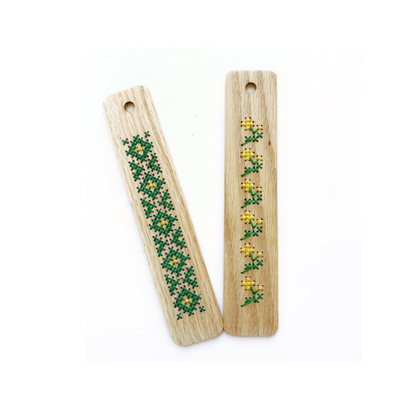 Bookmark Type 2 - Cross Stitching