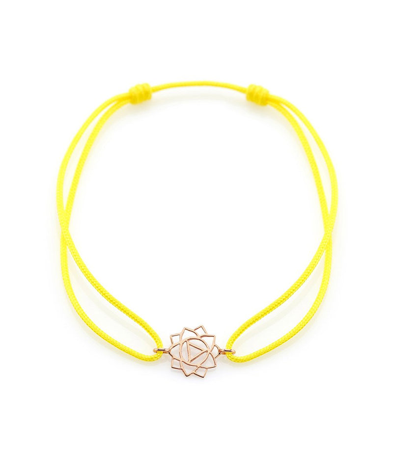 Confidence Manipura Anklet on Thread
