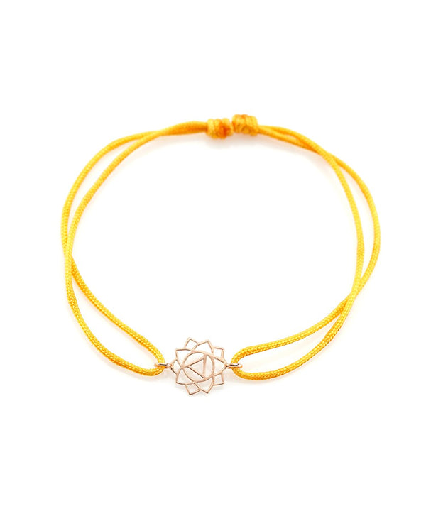 Confidence Manipura Bracelet on Thread