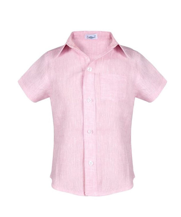Mathieu Pink Boy Shirt