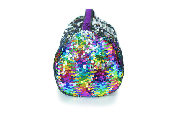 Sequin Small Duffle Rainbow Mirror