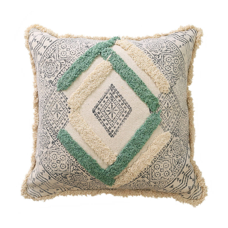 Pastel Embroidered Cushion Cover