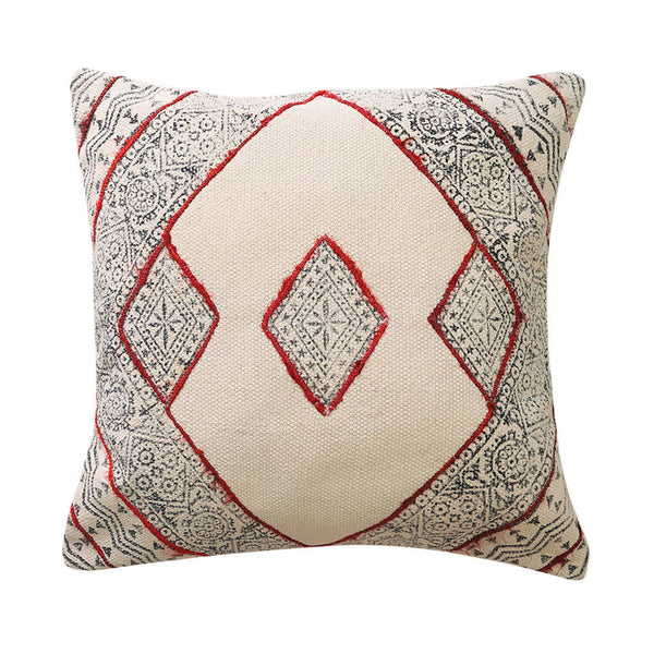 Red Detail Cushion Cover