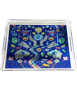 The ART Trove Illustration Tray - Electric Blue