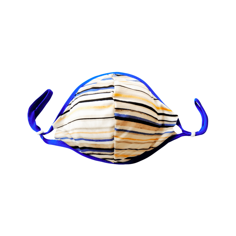 Blue Striped Teens mask