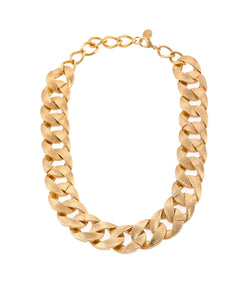 Gold Braid Necklace