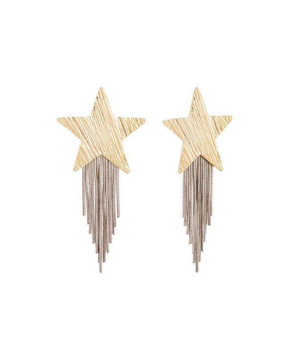 Stars Tassel Earrings