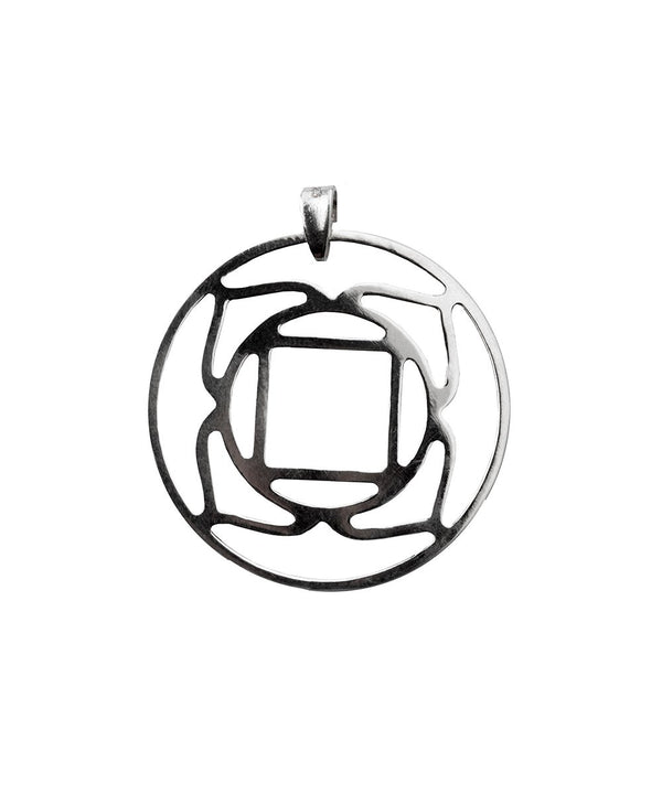 Root Chakra Pendant - Sterling Silver