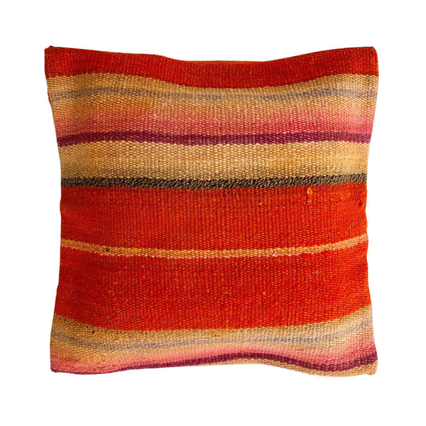 Block Peruvian Cushion Cover