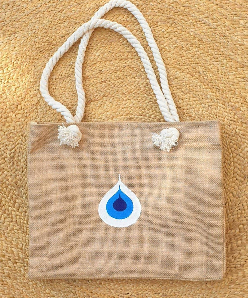 Evil Eye Beach Bag