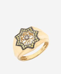 Yellow Orient Ring