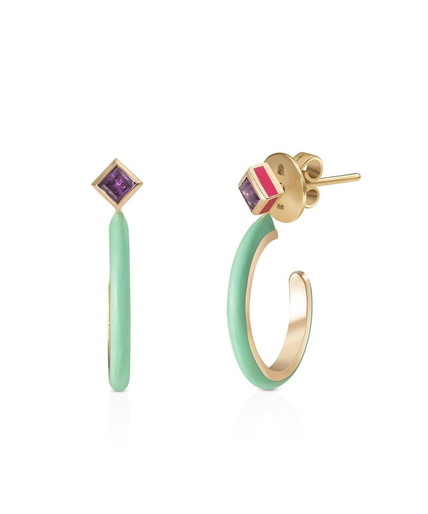 Cara Earrings in 18K Yellow Gold