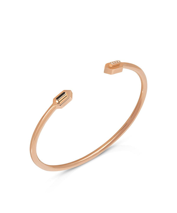 Eros Bangle in 18k Rose Gold