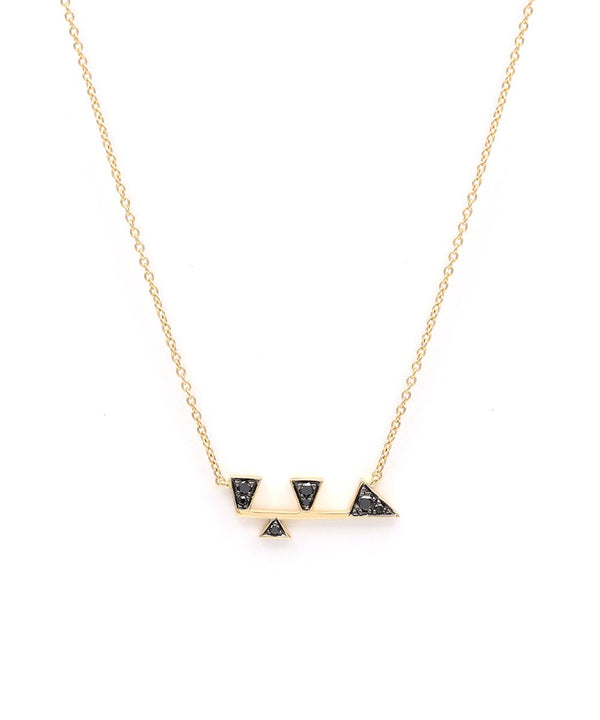 'Hub' (Love) Diamond necklace in 18k yellow gold