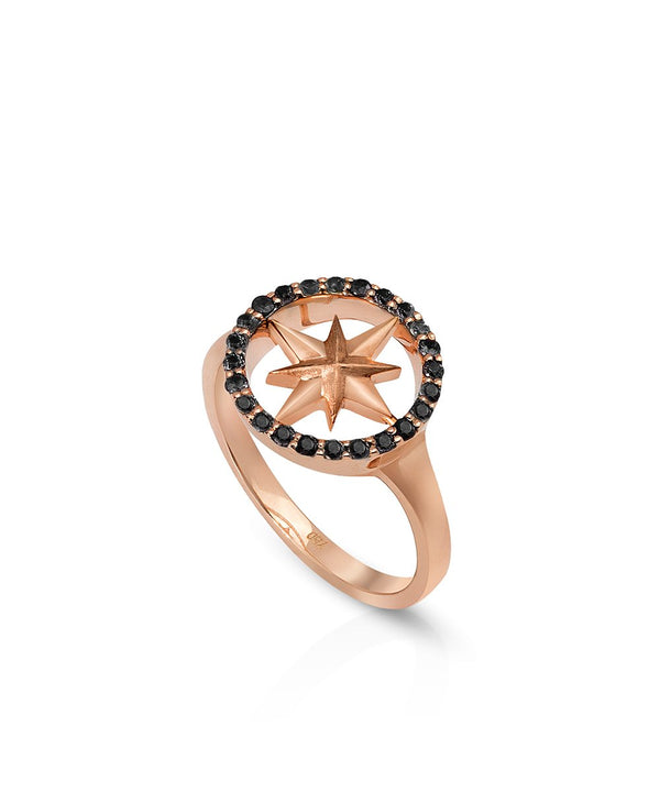 Nova Black Diamond Ring