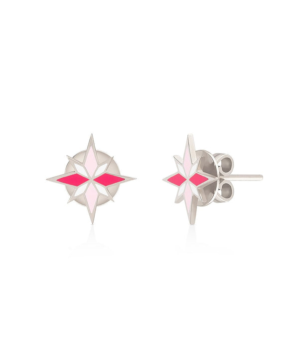 Sirius Earrings - Pink