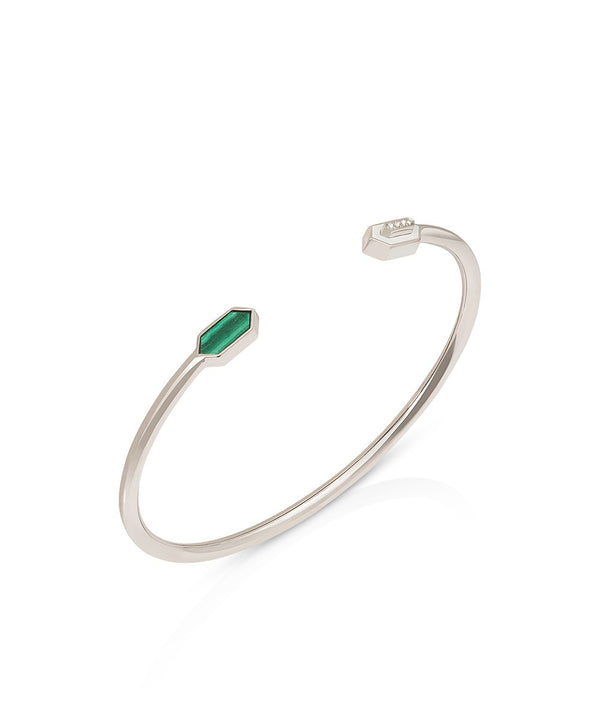 Valentina Cuff in 18K White Gold